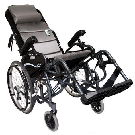 Tilt And Recline Manual Wheelchair by Karman Healthcare Lightweight Tilt In Space Vip 515