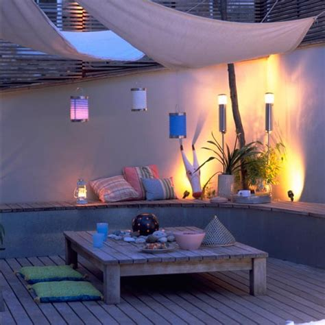best lights for the backyard sitting area transform your patio or decking area garden decking and