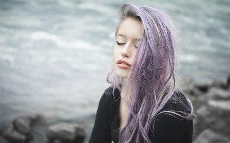 imagen d tinturas d cabello c 243 mo cuidar el cabello tintado de morado