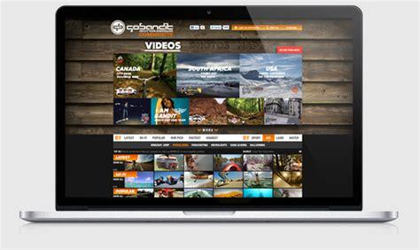 ui design proposal gobandit action cam season 2011 on web design served