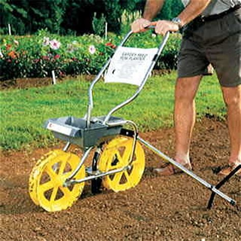 garden seed row planter garden seeder feeder