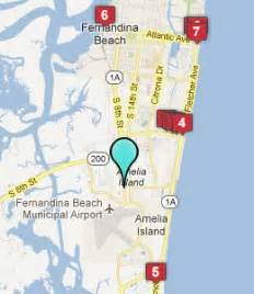 map amelia island florida amelia island fl hotels motels see all discounts