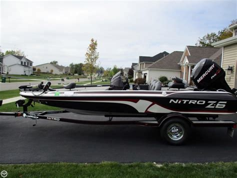 nitro z6 bass boats for sale 2011 used nitro z6 bass boat for sale 18 000 blasdell