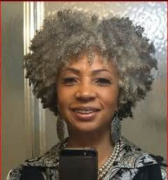 hairstyles for black with gray gray twistout natural afro hair styles pinterest