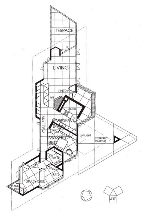 kentuck knob floor plan wright chat view topic initial development 30 60 or