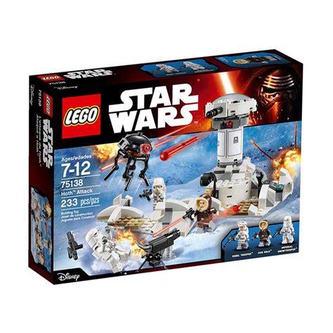 Harga Diskon Lego Wars Hoth Attack 75138 jual lego wars 75138 hoth attack harga kualitas terjamin blibli