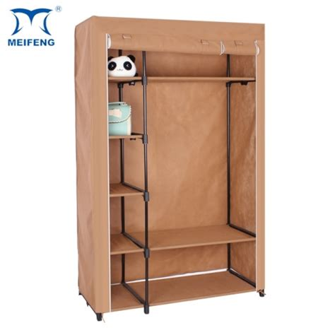 Fully Assembled Wardrobes by Meifeng Fully Assembled Wardrobes Fabric Closet Storage