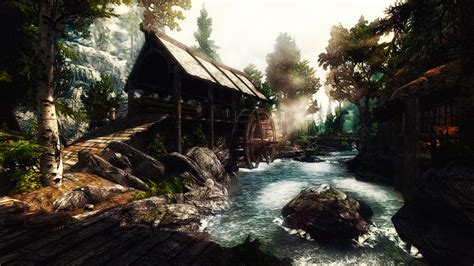 how to buy a house in riverwood riverwood watermill by creathor4005 on deviantart