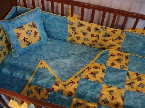 Curious George Crib Bedding Vintage Classic Curious George Fabric Boutique Crib Mini Crib