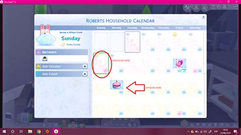 seasons calender working weirdly sims forums