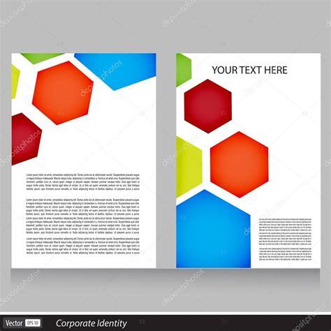 creative flyer design vector vector creative brochure flyer template design stock