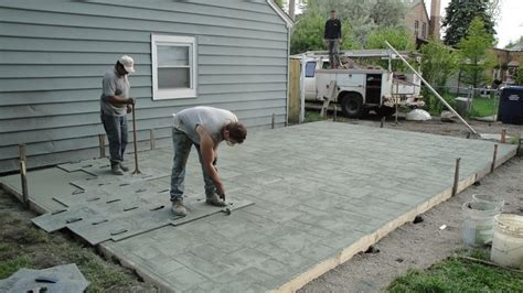 cement backyard cost how to turn a concrete patio into a green backyard my