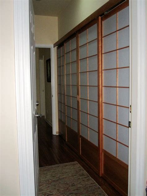 Small Bifold Closet Doors New Laundry Area In Hallway It Replaces A Set Of Bifold