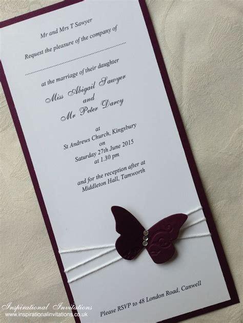 wedding invitations butterfly best 25 butterfly wedding invitations ideas on