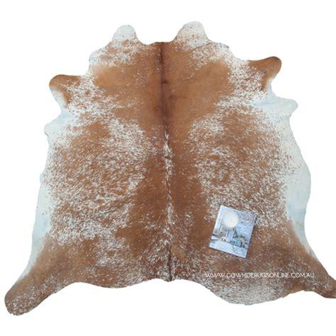Cowhide Rugs For Sale Australia by Medium Brown Salt Pepper Cowhide Rug Cowhide