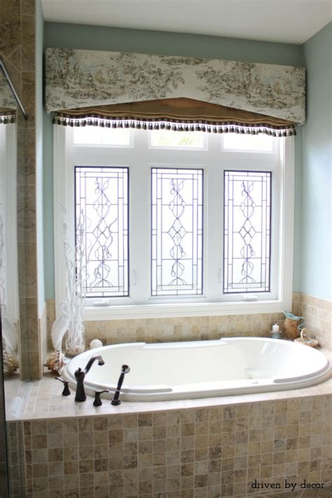 window treatment for bathroom window treatments for those tricky windows driven by decor