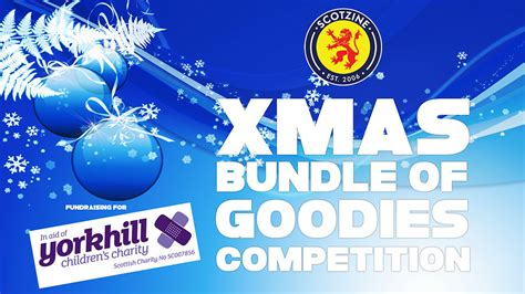 donate new year goodies bundle of goodies competition enter now scotzine