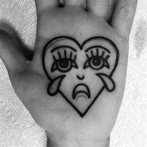 crying heart tattoo 50 designs for cool ink ideas