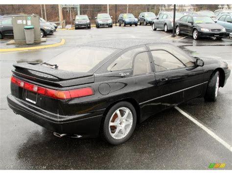 subaru coupe black 1996 black pearl subaru svx lsi awd coupe 48025205