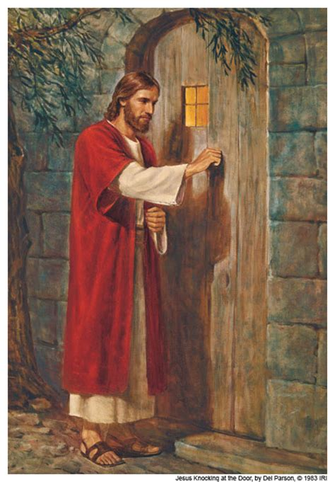 Jesus Knocking At The Door Images by The Family Spot For The Soul Sundays
