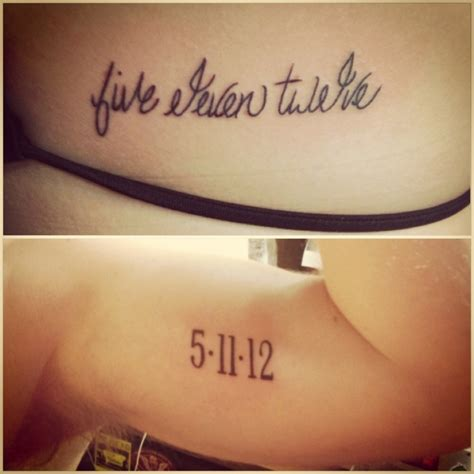 anniversary tattoos for couples anniversary tattoos