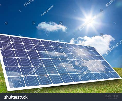 do solar panels reflect light solar panel reflecting light in a field stock photo