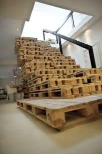 treppe aus paletten m 246 bel aus europaletten basteln