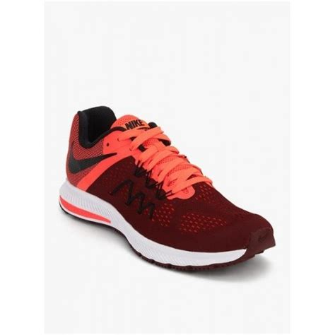maroon athletic shoes buy nike zoom winflo 3 maroon running shoes