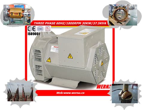 Ac Japan Quality 単一フェーズ ac 100kw 発電機