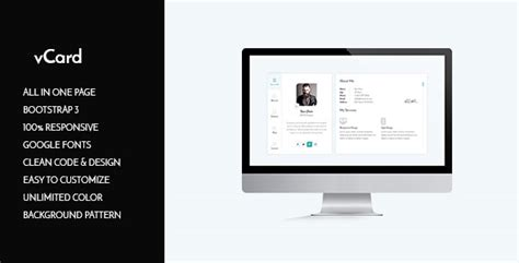divergent personal vcard resume html template free personal vcard template htmlmate