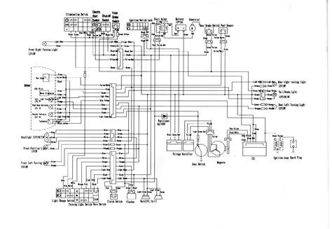 zongshen zs250gs wiring diagram