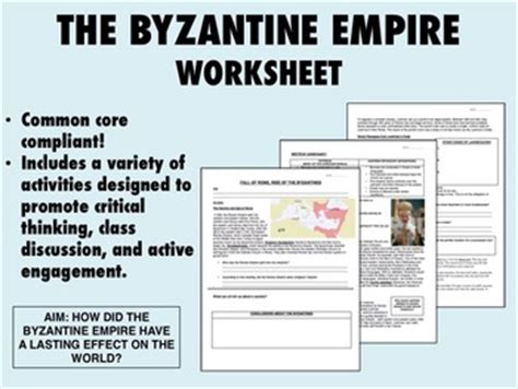 Rome Engineering An Empire Worksheet Answers by Byzantine Empire Worksheets Wiildcreative