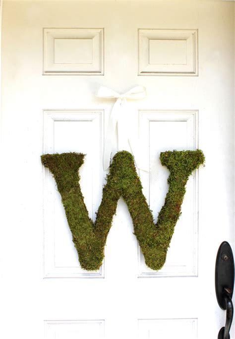moss covered letters moss letters the magnolia company