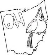 flag of ohio coloring page free printable coloring pages