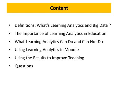using data to improve student learning in middle school books definitions what s learning analytics