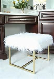 Vanity Stool Diy Great Diy Ottoman Less Than Of Bliss Faux