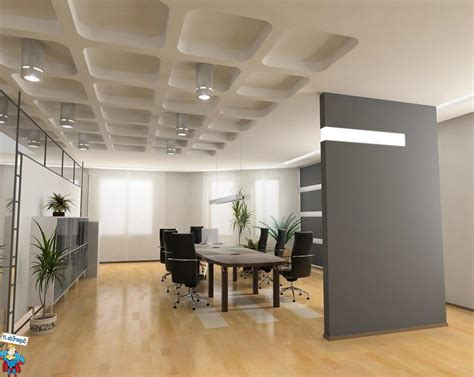 corporate office decor with few cool modern office decor