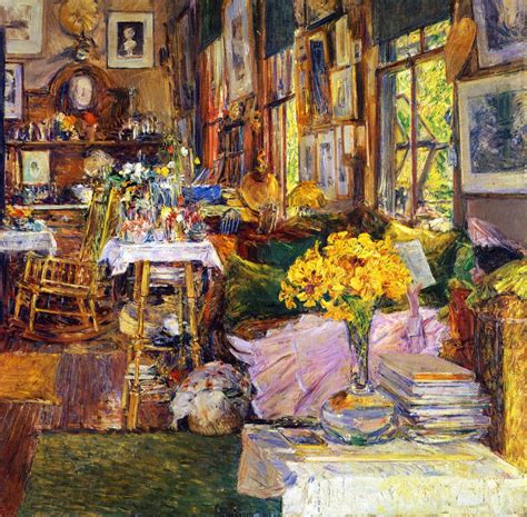 room of roses the room of flowers 1894 childe hassam wikiart org