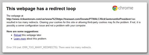 google images redirect notice how rick santorum is making his quot google problem quot worse