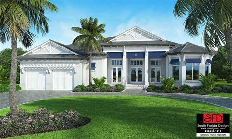 south florida house plans south florida designs crayton cove south florida designs