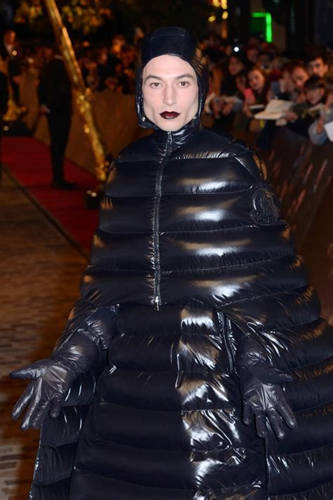 ezra miller outfits werq bitch ezra miller in moncler at the quot fantastic