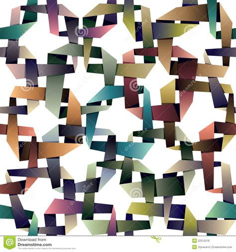 Origami Style - origami style seamless pattern royalty free stock photos