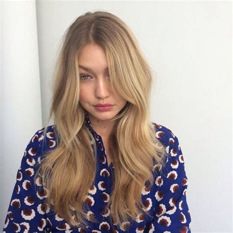 gigi hadid hairstyles gigi hadid hair hair long hair invisible layers
