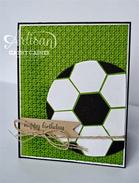 Soccer Birthday Card In The Cat Cave Happy Birthday Husband