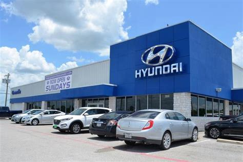 Hyundai Of Greenville Tx by Greenville Hyundai Car Dealership In Greenville Tx 75402