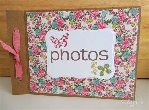 How To Make Handmade Photo Albums - how to make a handmade photo album www pixshark