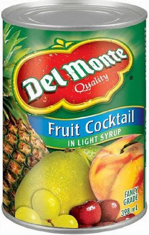 Wilmond Fruit Cocktail In Syrup Canned cocktail de fruits dans un sirop l 233 ger de montemd walmart ca