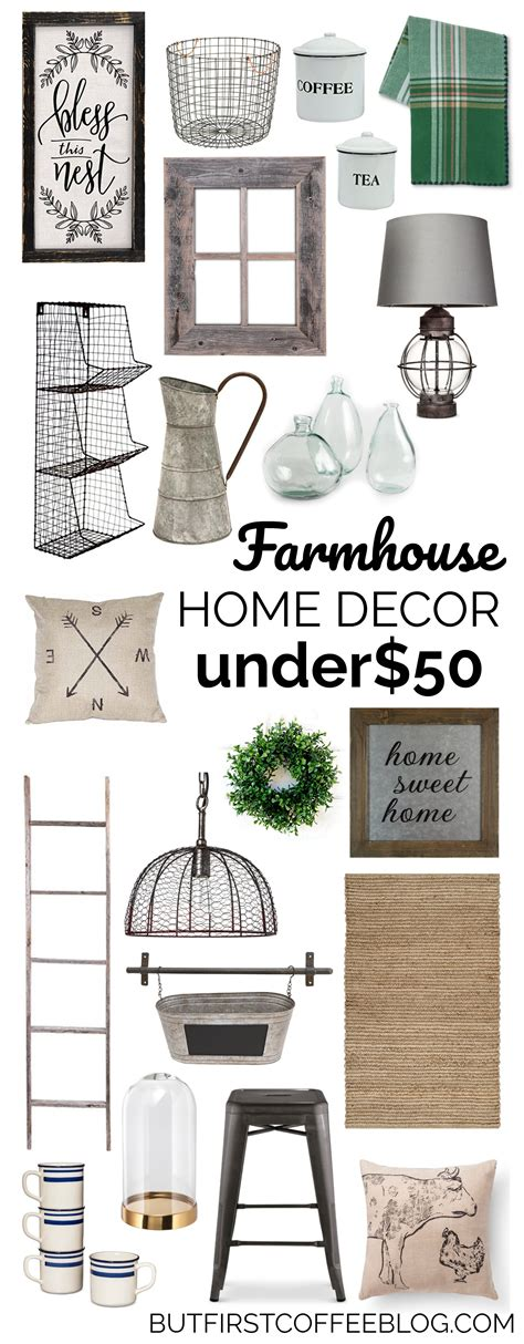 top home decor blogs the best farmhouse decor for under 50 but first coffee