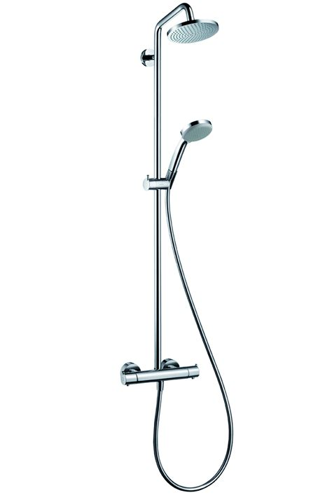 hans grohe luxury hansgrohe croma 160 showerpipe 270mm shower