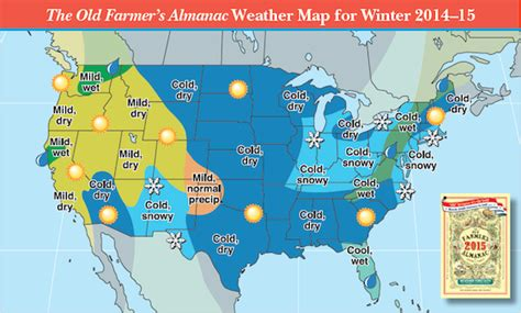 2014 2015 Winter Weather Forecast Map U S Old Farmer | 2014 2015 winter weather forecast map u s old farmer